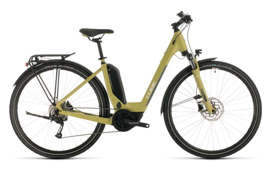 Best ebike rental in Ottawa. Rent a Cube Touring Hybrid One 500 electric bike from Escape tours rentals on Sparks St., Ottawa