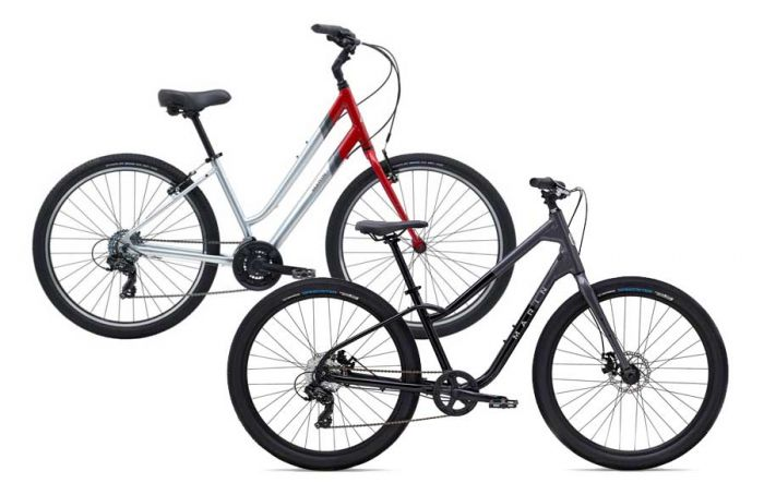 City comfort rental bike at Escape Tours Rentals on Sparks St., Ottawa. Comfort city bike rentals available daily