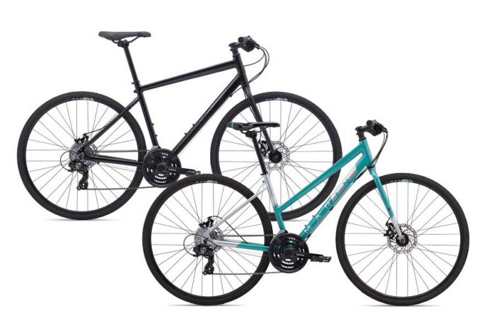 Hybrid Performance rental bike at Escape Tours Rentals on Sparks St., Ottawa. Ottawa bike rentals available daily
