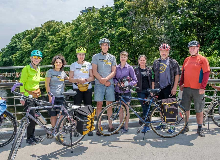 A team of experienced, local, fun and knowledgeable tour guides at Escape Bicycle Tours and Rentals lead Ottawa tours by bike